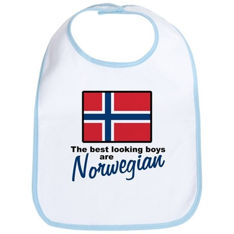 Best Looking Boys Norwegian Bib
