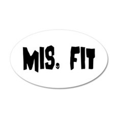 Mis Fit Wall Decal