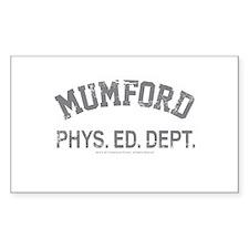 Mumford Decal