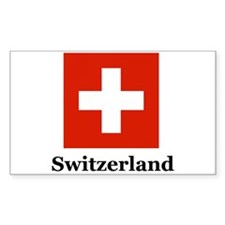 Swiss Heritage Rectangle Decal