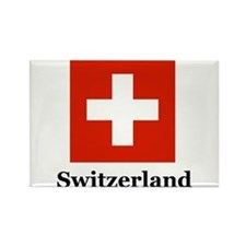 Swiss Heritage Rectangle Magnet