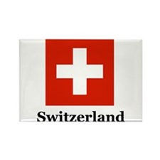 Swiss Heritage Rectangle Magnet (100 pack)
