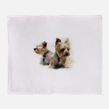 Silky Terriers Throw Blanket