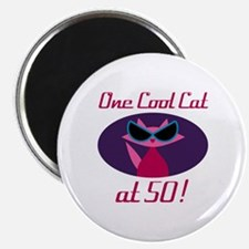Unique 50th birthday queen Magnet