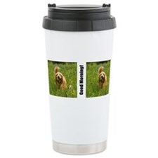 Cute Golden retriever Travel Mug