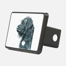 Black Labradoodle 7 Hitch Cover