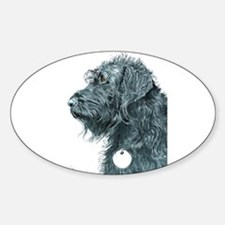 Black Labradoodle 7 Decal