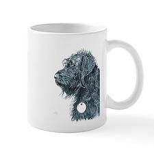 Black Labradoodle 7 Mugs