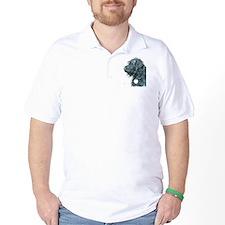 Black Labradoodle 7 T-Shirt
