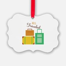 Well Traveled Ornament