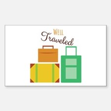 Well Traveled Decal