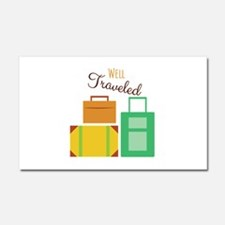 Well Traveled Car Magnet 20 x 12