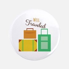 "Well Traveled 3.5"" Button"