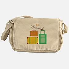 Well Traveled Messenger Bag