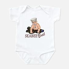 Seabee Infant Onesie Body Suit
