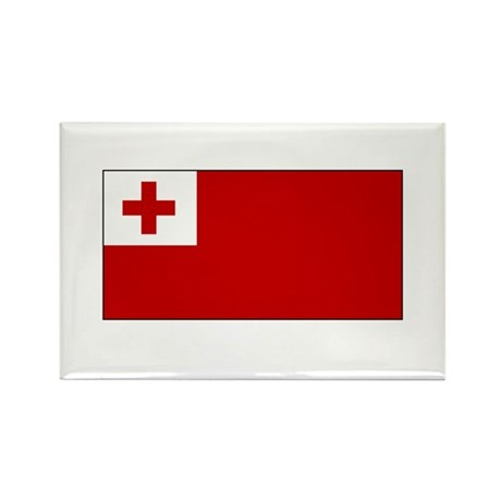 Tongan Flag Rectangle Magnet (100 pack)