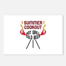 SUMMER COOKOUT Postcards (Package of 8)