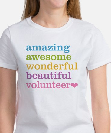 Awesome Volunteer Women's T-Shirt