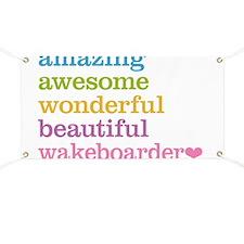 Wakeboarder Banner