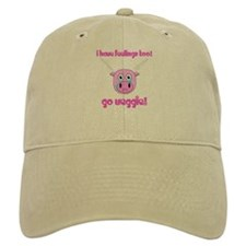 Go Veggie Pig Baseball Baseball Cap