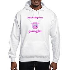 Go Veggie Pig Hoodie