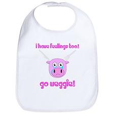 Go Veggie Pig Bib