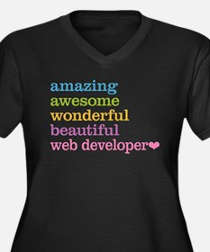Web Developer Plus Size T-Shirt