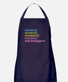 Web Developer Apron (dark)