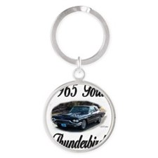 Cute Cool car Round Keychain