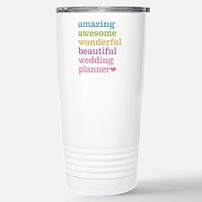Wedding Planner Stainless Steel Travel Mug