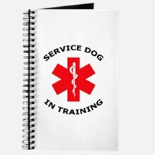 SERVICE DOG IN TRAINING Journal