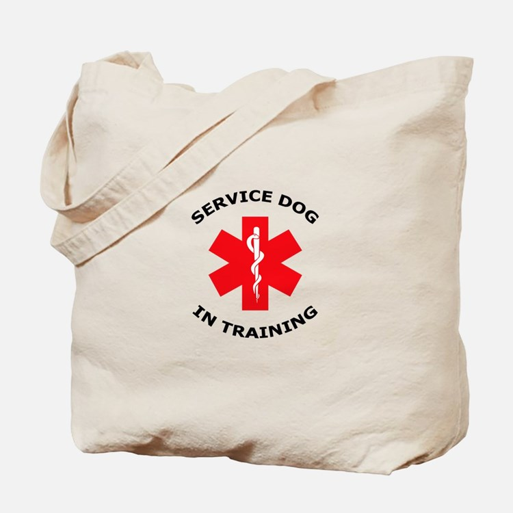SERVICE DOG IN TRAINING Tote Bag