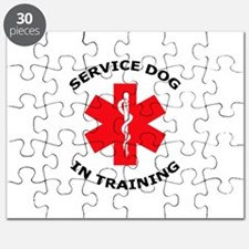 SERVICE DOG IN TRAINING Puzzle