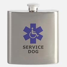 SERVICE DOG Flask
