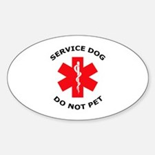 DO NOT PET Decal