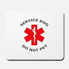 DO NOT PET Mousepad