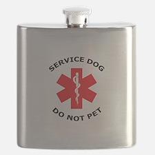 DO NOT PET Flask