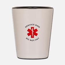 DO NOT PET Shot Glass