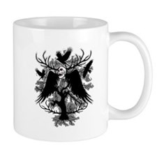 Nightmare Skull and Crows Mugs