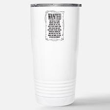 Funny Cowgirl Thermos Mug