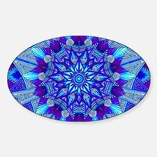 Blue and Purple Patterned Decal
