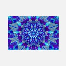 Blue and Purple Patterned Star Magnets