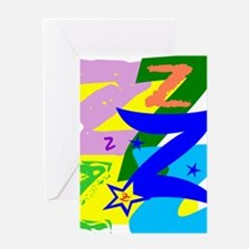 Initial Design (Z) Greeting Cards