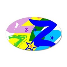 Initial Design (Z) Wall Decal