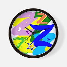 Initial Design (Z) Wall Clock