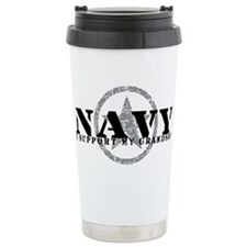 Cute Military grandson Travel Mug
