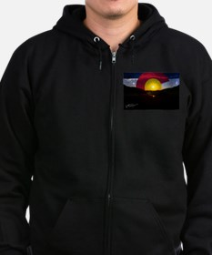Colorado and the Sun Zip Hoodie