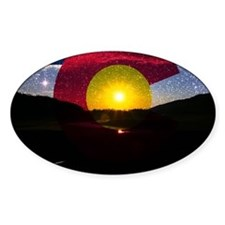 Colorado and the Sun Decal