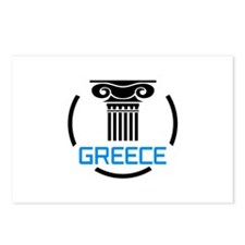 GREECE COLUMNS Postcards (Package of 8)
