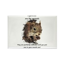 Cute Quit smoking Rectangle Magnet